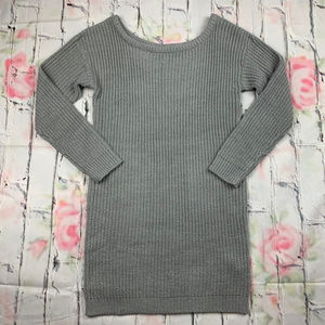 Missguided off shoulder kniited sweater dress B23